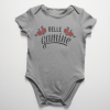 Baby onesie Belle gamine translates to pretty little girl